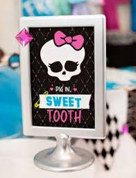 free printable monster high pin the bow on the skull free