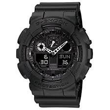 black friday watches amazon amazon com casio men u0027s ga100 1a1 black casio watches