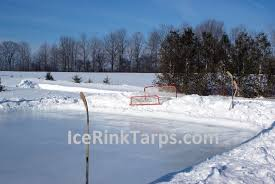 Backyard Ice Rink Brackets Ice Rink Liner 60ft X 100ft Heavy Duty Backyard Hockey Ice Rink