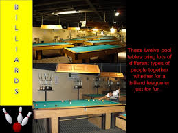 Types Of Pool Tables by Old Vs Modern Bowling Alley Style
