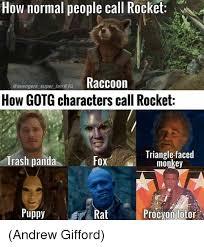 Monkey Jesus Meme - how normal people call rocket avengers super fan raccoon how gotg