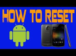 how to reset android 5 things to do before factory resetting reset android phone