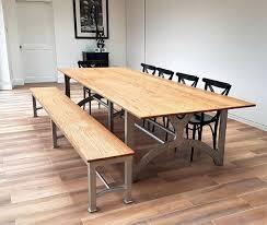 steel top dining table steel top dining table stainless industrial glass erkkeri info