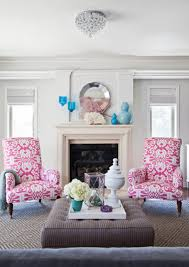 living room painting color ideas chic white pink blue living room