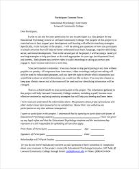 psychology consent forms