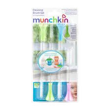Munchkin Baby Gate Replacement Parts Munchkin Cleaning Brush Set 4 0 Ct Walmart Com