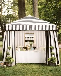 Striped Canopy by Party Tent Photos 2 Of 2