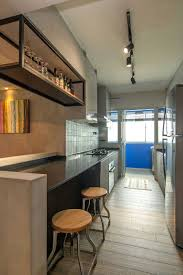 Kitchen Ideas For Small Spaces Singapore Home In Singapore Space Savvy Interior Laced With Industrial Elements