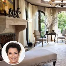 Kris Jenner Bedroom Furniture Inside Kris Jenner U0027s Glorious Redesigned Los Angeles Mansion
