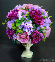 types of flower arrangements what are the different types of artificial flowers