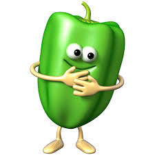 en couleurs à imprimer nature légumes poivron numéro 619440