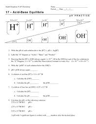 best solutions of acids and bases worksheets for cover letter