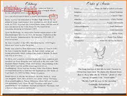 funeral programs exles funeral programs exles exle25 jpg letterhead template sle