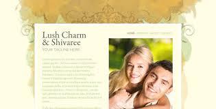 wedding web 7 html wedding website templates web graphic design