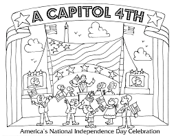 fourth of july coloring pages a capitol fourth pbs