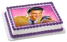 elvis cake topper elvis edible birthday cake or cupcake topper edible