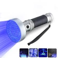 black light mold detection uv flashlight black light korada 100 led handheld pet dog cat
