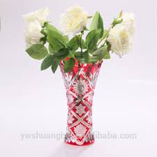 Tall Red Vases Cheap Cheap Wholesale Coloured Glass Vases Wholesale Red Glass Vases