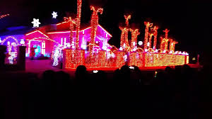 Christmas House Light Show by Light Show At Fred Loya House El Paso Texas 2015 Youtube