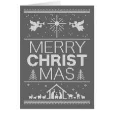 ugly christmas sweaters greeting cards zazzle