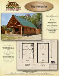 What Is The Floor Plan Camp And Cabin Log Packages