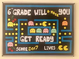 6th grade bulletin board