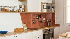 plan de travail meuble cuisine plan de travail évier mitigeur côté maison