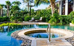 Awesome Pool Landscaping Designs Contemporary Amazing Home - Backyard landscape designs with pool