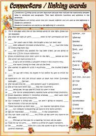 Coordinating And Subordinating Conjunctions Worksheets 53 Free Esl Connectors Worksheets