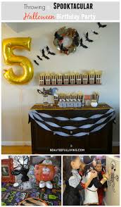 throwing a spooktacular halloween birthday party beauteeful living