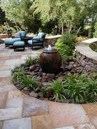 chiplan water fountain landscaping ideas