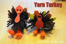 yarn turkey five chefs