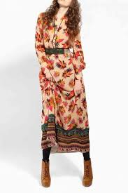 floral print long sleeve maxi dress dresses party dresses casual