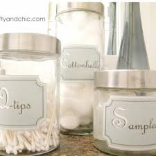 Bathroom Storage Containers by Printable Bathroom Container Labels Printable Labels For The