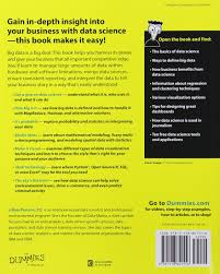 data science for dummies amazon co uk lillian pierson
