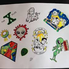 the x files tattoos the xfiles tattoos instagram photos and