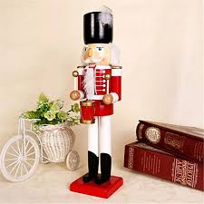 selene trumpet drum nutcracker soldiers wooden walnut