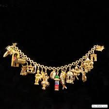 vintage gold bracelet charms images 18 carat gold charm bracelet best bracelets jpg