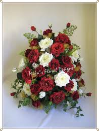 church flower arrangements artificial wedding flowers and bouquets australia mixed roses