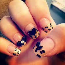 zebra u0026 cheetah pink nails pretty in pink nail designs