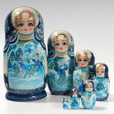 russian nesting dolls matryoshka from yolkstar ornaments