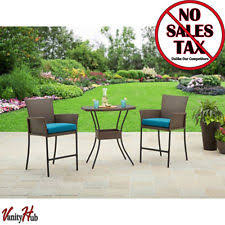 High Patio Table And Chairs Bistro Table And Chairs Home U0026 Garden Ebay