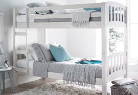 3ft Bunk Beds Europa America 3ft X 5ft3 Small Single White Wooden Bunk Bed