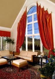 Curtain Ideas For Curved Windows Best 25 Big Window Curtains Ideas On Pinterest Double Window