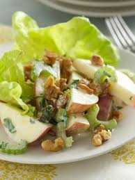 Food Network The Kitchen Recipe Why A Waldorf Salad Is Called A Waldorf Salad Fn Dish Behind