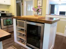 Granite Island Kitchen Kitchen Island With Granite Countertop Modern Kitchen With Brown