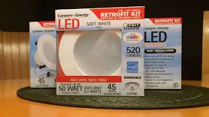 cat rechargeable led work light costco ive been on an led can retrofit binge ideas flood lights costco