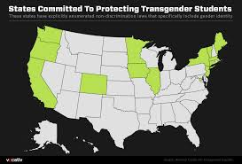 only 13 states are committed to protecting transgender schoolkids