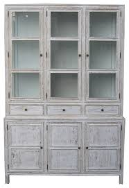 colonial hutch farmhouse china cabinets and hutches by noir