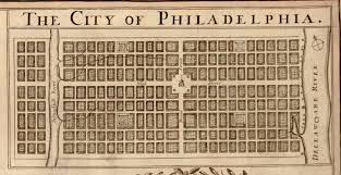Philadelphia Pennsylvania Map by Old Map Of Philadelphia Pa 1681 Thomas Holme